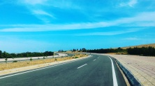 Road to the White Sand Dunes